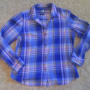 North Face Plaid Shirt